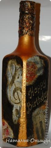 Декор бутылок. Выполнение на заказ к Вашему торжеству фото 12