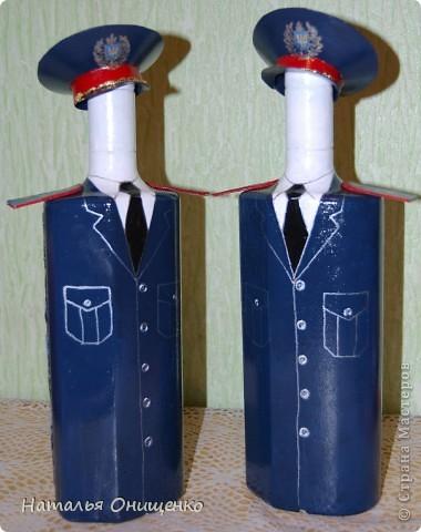Декор бутылок. Выполнение на заказ к Вашему торжеству фото 19