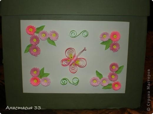 Подарочная коробка (первая работа) фото 3