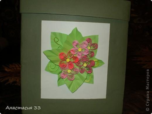 Подарочная коробка (первая работа) фото 4