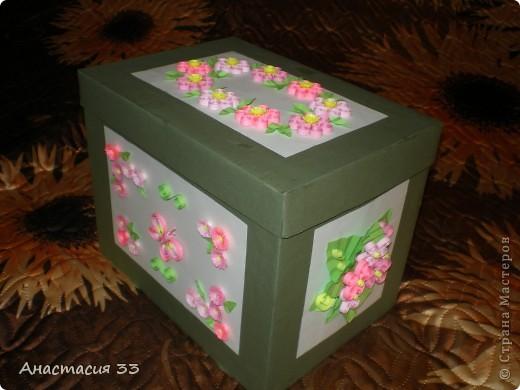 Подарочная коробка (первая работа) фото 1