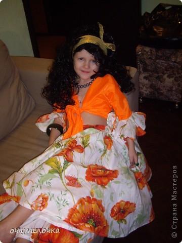 Костюм циганки Азы для любимой дочки фото 1
