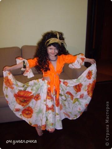 Костюм циганки Азы для любимой дочки фото 2