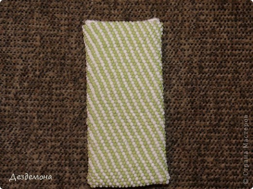 Еще один вязанный чехол для телефона  фото 2