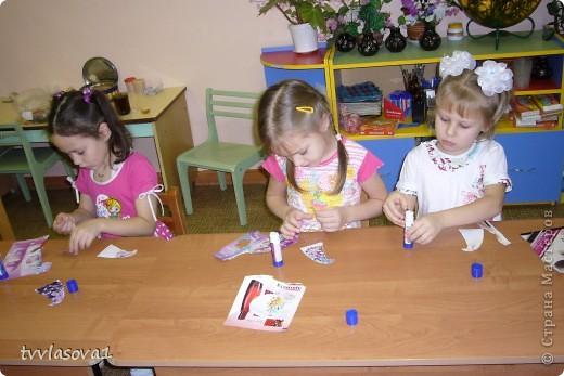 Работа моих дошколят к Новому Году. фото 3