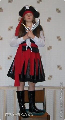 """""""Лесная нимфа"""" -  костюм внучки Оли. Она учится в 5 классе. Ободок и браслет украсила канзашками.  фото 4"""