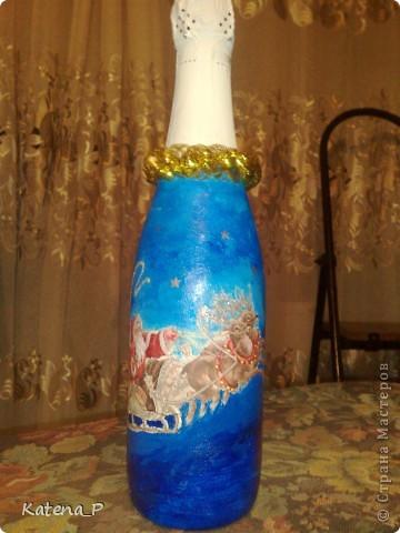Мои первые бутылочки) Завтра подарю их коллегам на работе! Надеюсь им понравится))) фото 2