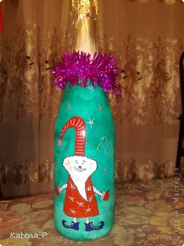 Мои первые бутылочки) Завтра подарю их коллегам на работе! Надеюсь им понравится))) фото 6