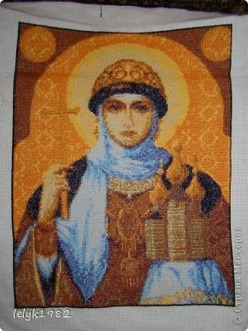 Икона - Святая Ольга  фото 1