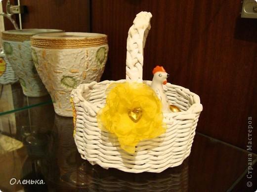 Плетение из газет. фото 3