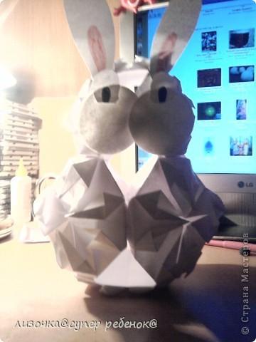 вот такой кролик у меня получился! фото 1