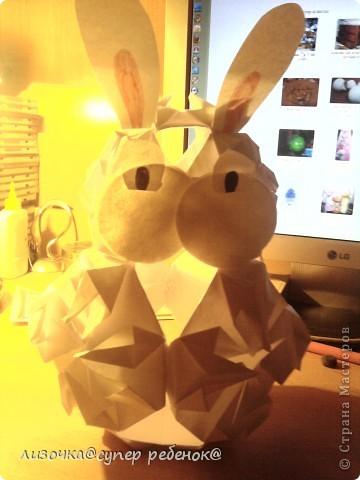 вот такой кролик у меня получился! фото 2