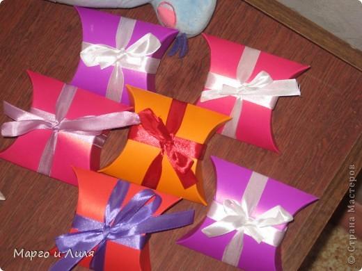 Коробочки для подарков фото 2