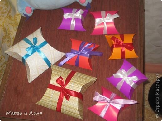Коробочки для подарков фото 1