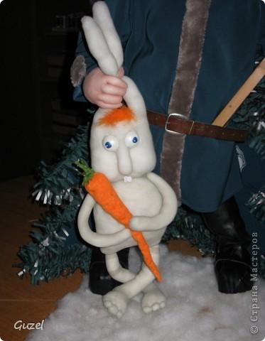 """""""А вот зайца ждёте?!"""" (персонаж из пластилинового мультфима) фото 4"""