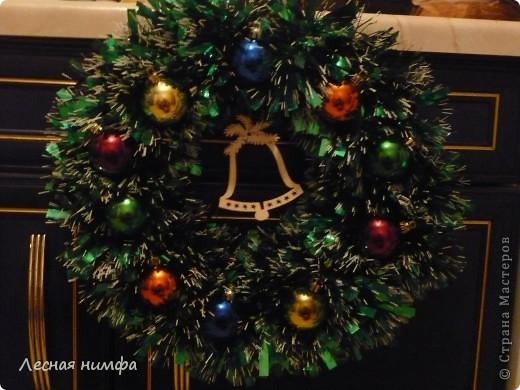 Мастер-Класс по новогоднему веночку я показывала тут http://stranamasterov.ru/node/123173 фото 1