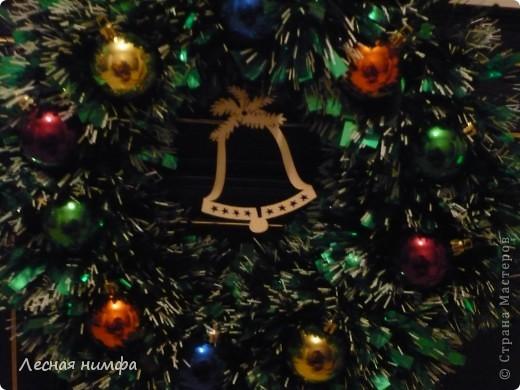 Мастер-Класс по новогоднему веночку я показывала тут http://stranamasterov.ru/node/123173 фото 2