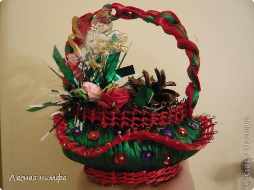 Вот такую корзиночку из мыла мы с дочкой сделали в подарок бабуле.. фото 1