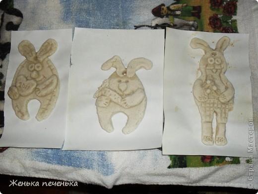 Вот таких зайчат я увидела в нашей стране и решила сделать в подарок нашим бабушкам!!! фото 2