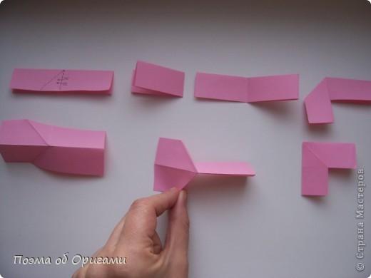 Для того, что бы прочитать схему даже самого сложного изделия, достаточно запомнить небольшой набор условных обозначений. Большая их часть была введена в практику еще в середине ХХ века известным мастером Акирой Йошизавой. Условные знаки играют роль своеобразных «нот», следуя которым можно воспроизвести любую, даже самую сложную работу. Все обозначения в оригами можно разделить на линии, стрелки и знаки. Для записывания того или иного приема могут быть использованы различные их комбинации. В данном файле дополнительно приведены англоязычные термины, которые используют для описания процесса складывания в посвященной оригами англоязычной литературе. Они уже давно установились и являются столь же общепризнанными, как и условные обозначения. фото 13
