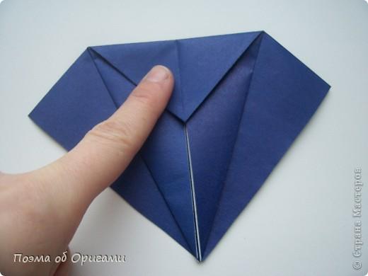 В переводе «crane» означает «журавель», поскольку именно из этой базовой формы складывается знаменитый японский журавлик. Материал по базовой форме выпущенный ранее: http://stranamasterov.ru/node/127916 фото 16