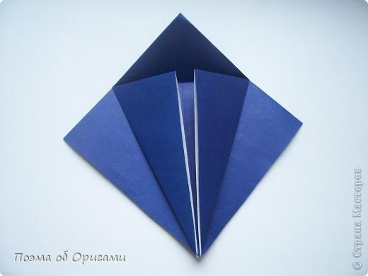 В переводе «crane» означает «журавель», поскольку именно из этой базовой формы складывается знаменитый японский журавлик. Материал по базовой форме выпущенный ранее: http://stranamasterov.ru/node/127916 фото 17