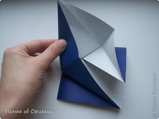 В переводе «crane» означает «журавель», поскольку именно из этой базовой формы складывается знаменитый японский журавлик. Материал по базовой форме выпущенный ранее: http://stranamasterov.ru/node/127916 фото 18