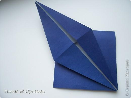 В переводе «crane» означает «журавель», поскольку именно из этой базовой формы складывается знаменитый японский журавлик. Материал по базовой форме выпущенный ранее: http://stranamasterov.ru/node/127916 фото 19