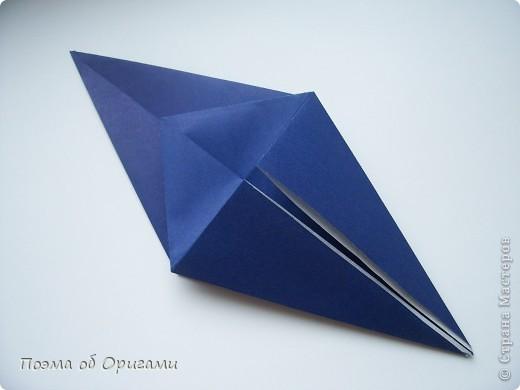 В переводе «crane» означает «журавель», поскольку именно из этой базовой формы складывается знаменитый японский журавлик. Материал по базовой форме выпущенный ранее: http://stranamasterov.ru/node/127916 фото 21