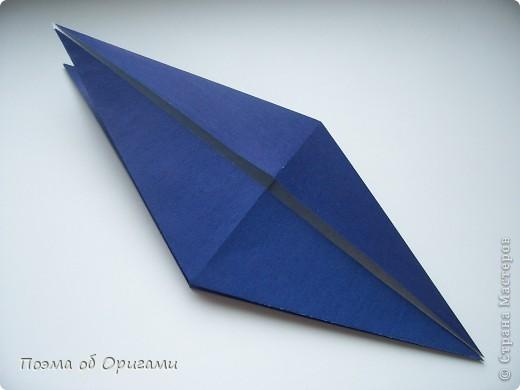 В переводе «crane» означает «журавель», поскольку именно из этой базовой формы складывается знаменитый японский журавлик. Материал по базовой форме выпущенный ранее: http://stranamasterov.ru/node/127916 фото 22