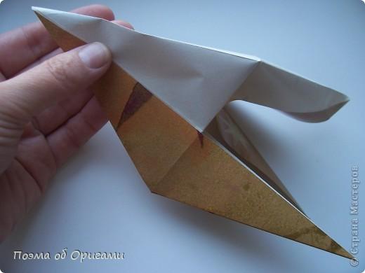 Этот технический прием может быть использован, если фигурка состоит как минимум из двух слоев бумаги.  фото 4