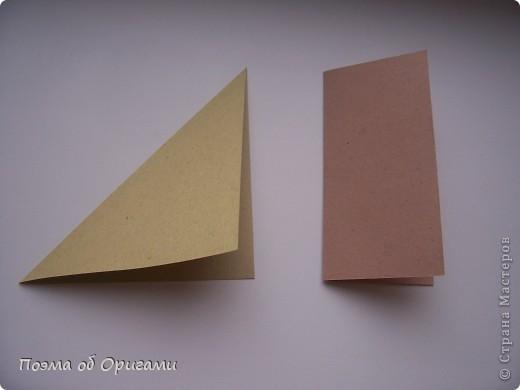 Складывание многих фигурок в оригами начинается с хорошо известных несложных конструкций, которые называются «базовыми формами». Их число невелико и иногда их называют заготовками. Все они делаются из квадрата, используя комбинацию основных приемов: диагональ и центральная поперечная линия. Знание всех базовых форм для оригамиста также важно, как гаммы для музыканта. фото 4