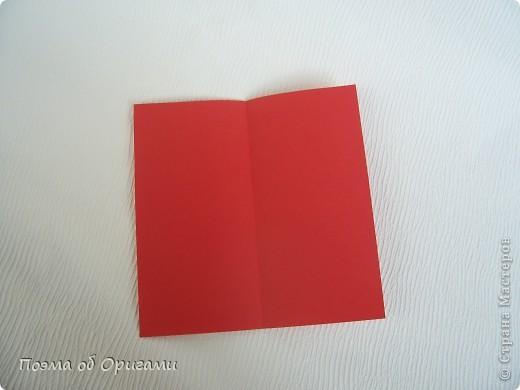 Для этой базовой формы сгибаем квадрат в прямоугольник. Затем, сгибаем к центральной линии его меньшие стороны и расплющиваем образовавшиеся карманы. Далее поподробнее. фото 4
