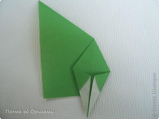 Такой прием применяется, в частности, при складывании Базовой формы «птица» и «лягушка».  фото 5