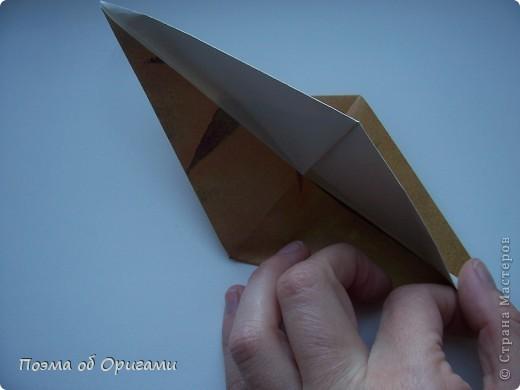 Этот технический прием может быть использован, если фигурка состоит как минимум из двух слоев бумаги.  фото 5