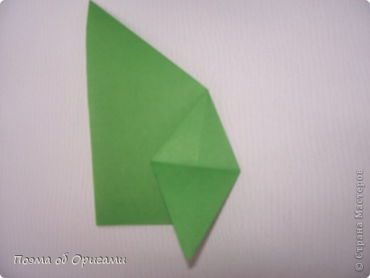 Такой прием применяется, в частности, при складывании Базовой формы «птица» и «лягушка».  фото 9