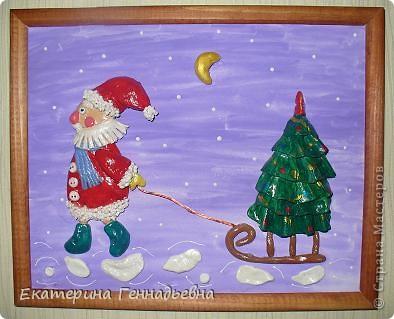 Панно по книге Ирины Ханановой. Выполнила Сохарева Маша, 7 лет. фото 1
