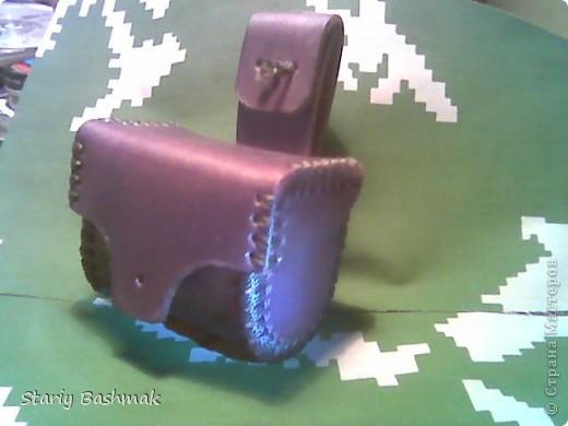 кобура-пульница из чепрака фото 3