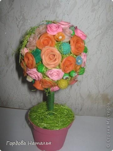 Подарок подруге на Новый год!!! Зимой - розы... фото 2