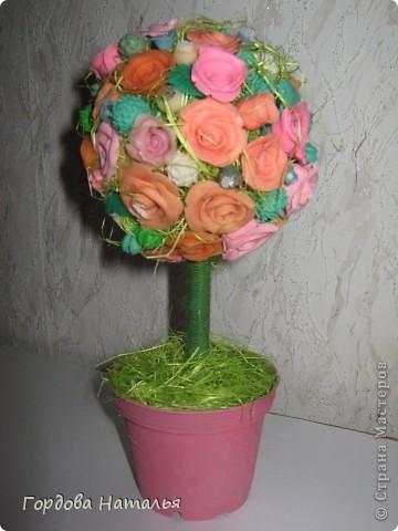 Подарок подруге на Новый год!!! Зимой - розы... фото 1