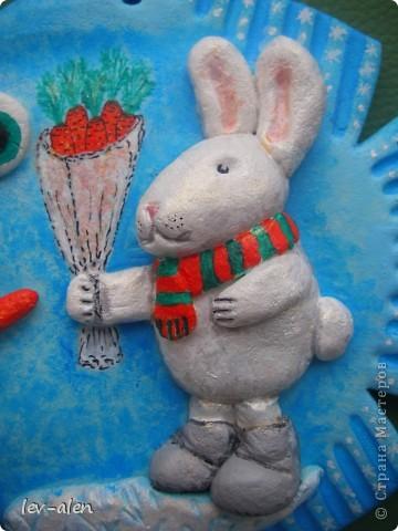 Я и заяц поздравляем всех с наступающим Рождеством и Новым годом! Желаем творческих успехов, хорошего настроения, побольше радостных мгновений в жизни и исполнения всех желаний!!! фото 3