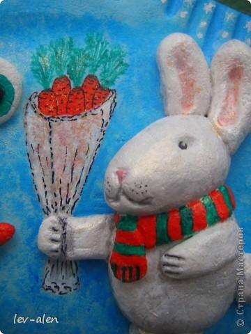 Я и заяц поздравляем всех с наступающим Рождеством и Новым годом! Желаем творческих успехов, хорошего настроения, побольше радостных мгновений в жизни и исполнения всех желаний!!! фото 2