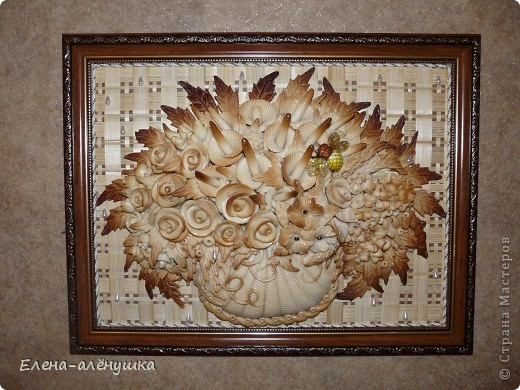 Хлебосольная корзина с цветами фото 1