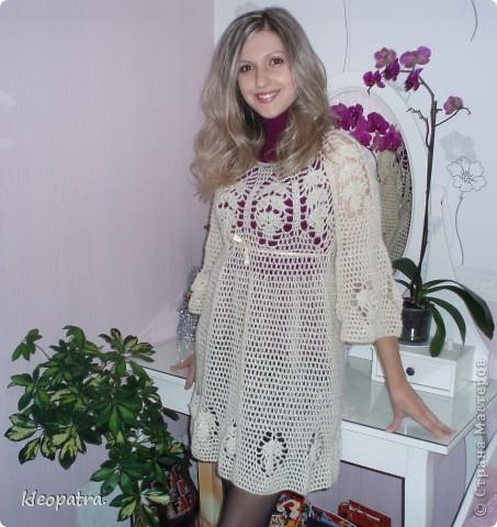 Платье из ангорки фото 1