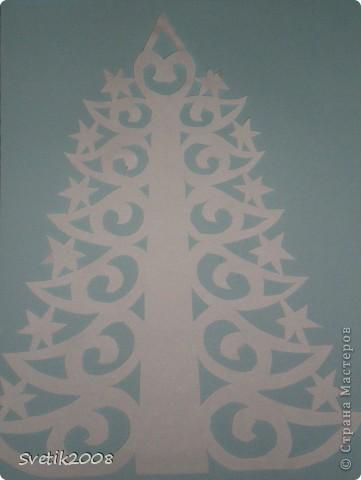 Украшение Новый год Вырезание Новогодние вытинанки для Детского сада Бумага фото 13.