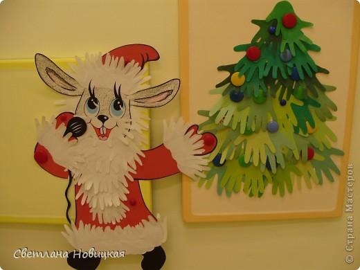 Зайчик торопится поздравить всех с Новым годом))) фото 3