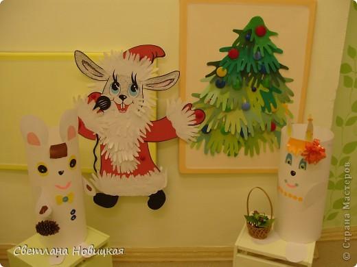 Зайчик торопится поздравить всех с Новым годом))) фото 4