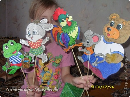 Кукольный театр своими руками куклы