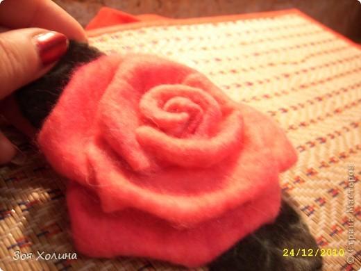 "Моя первая ""мокрая"" роза. Она станет подарком на Новый Год. фото 4"