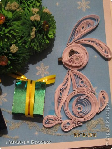 Эту открытку я сделала в коробке из под конфет. За зайчат большое спасибо Ларисе!!! ( http://stranamasterov.ru/node/123864?c=favorite ) фото 6